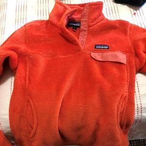 Patagonia Women's  Orange Jacket Size Small